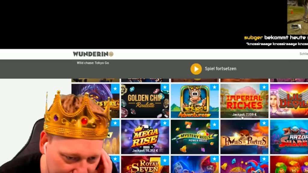 Wo spielt Knossi Casino?
